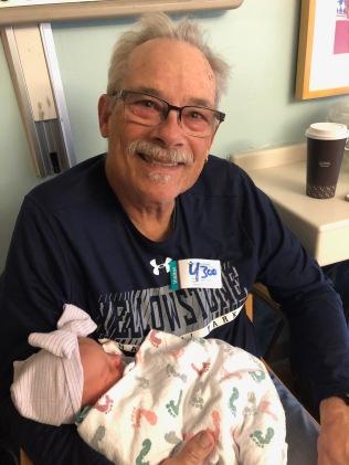 A Happy Grandpa