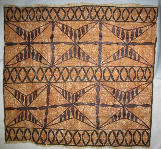 Tapa Cloth from American Samoa