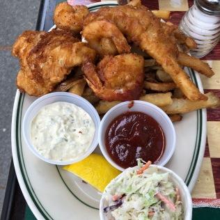 Fish Fry Combo sans Scallops