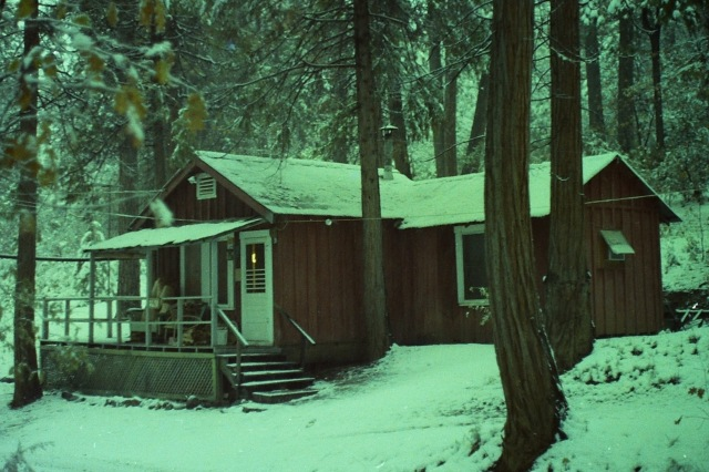 Aggie and Dick's Cabin 1978
