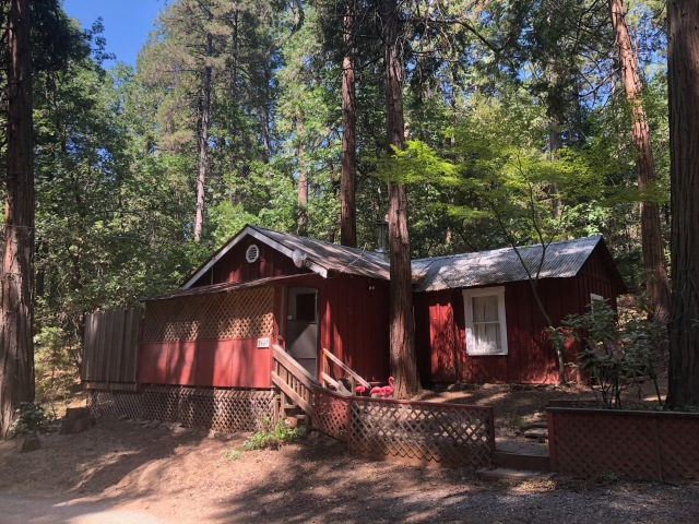 Aggie and Dick's Cabin