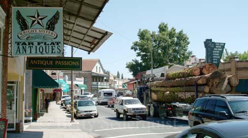 Logging Truck in Sonora