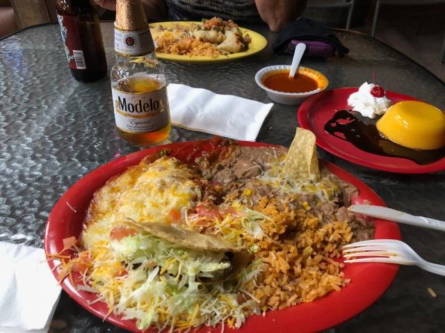 Taco and Chili Relleno