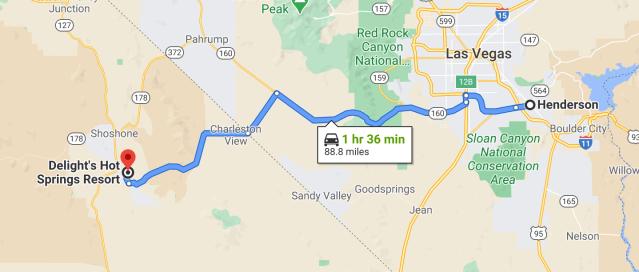 Henderson to Tecopa