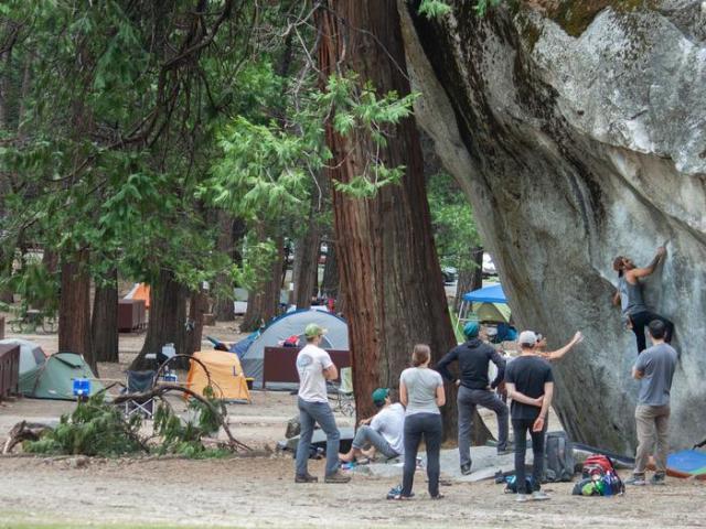 Camp 4 Climbers