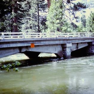 High Water at a Bridge