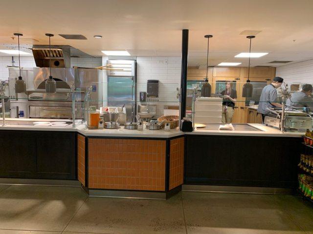 Sandwich, Soup and Pizza Station