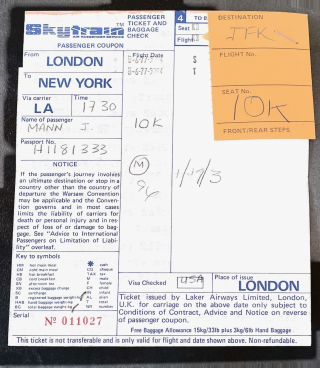 Skytrain to Germany - 1977