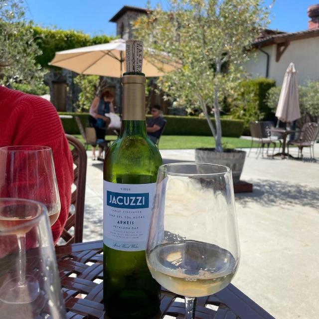 A Bottle at Jacuzzi
