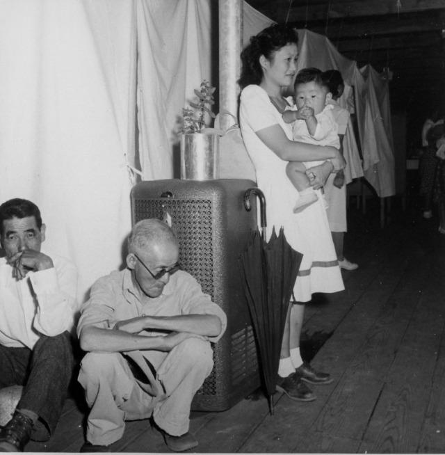 Dorothea Lange - Inside a Barrack