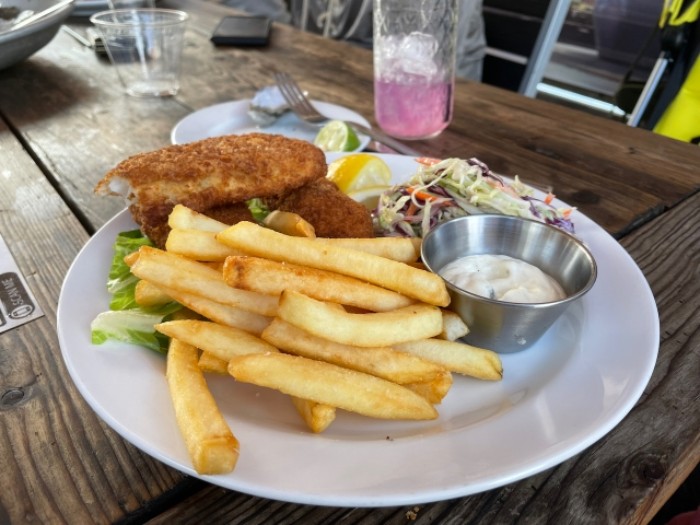 Fish and Chips at Atwater Tavern