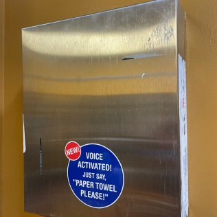 Bathroom Sign 2