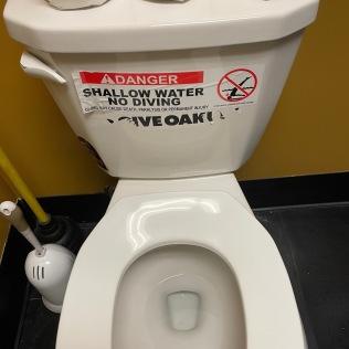 Bathroom Sign 3
