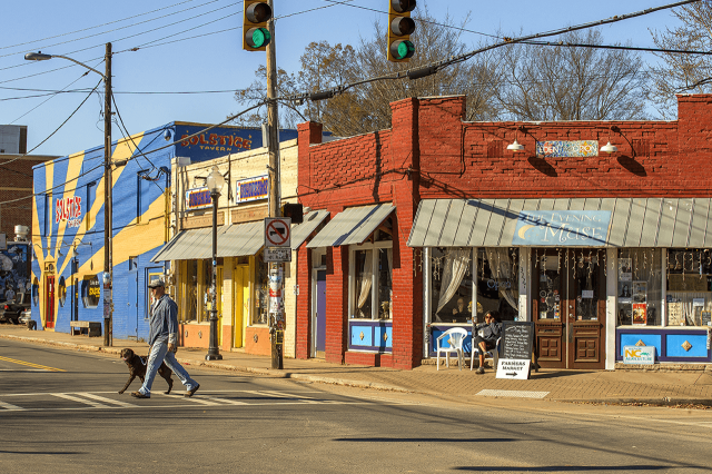 The Evening Muse in NoDa