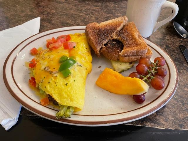 Omelet at Brigs Great Beginnings
