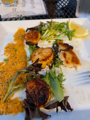 Scallops at Roots